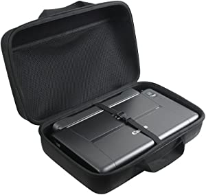 Adada Hard Travel Case Fits Canon PIXMA TR150 / iP110 Wireless Mobile Printer with Battery Attached
