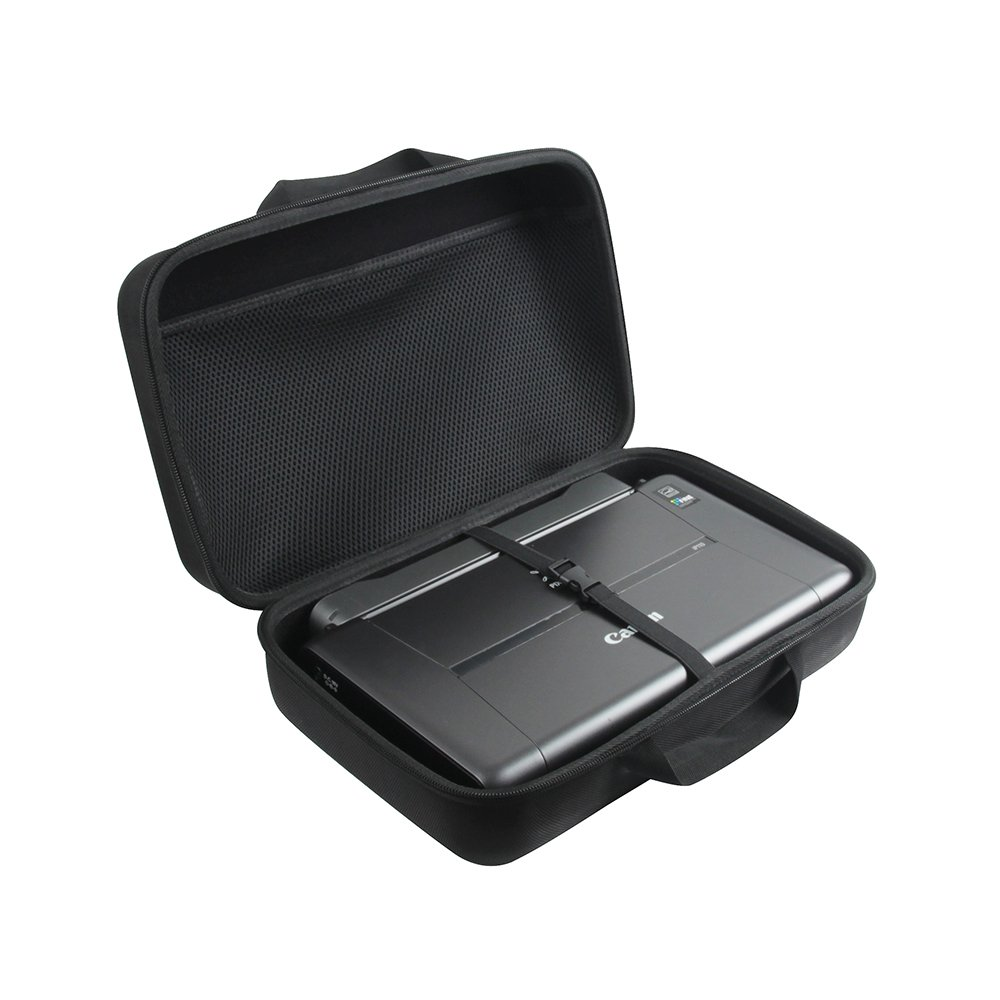 Adada Hard Travel Case Fits Canon PIXMA iP110 Wireless Mobile Printer with Battery Attached by Adada