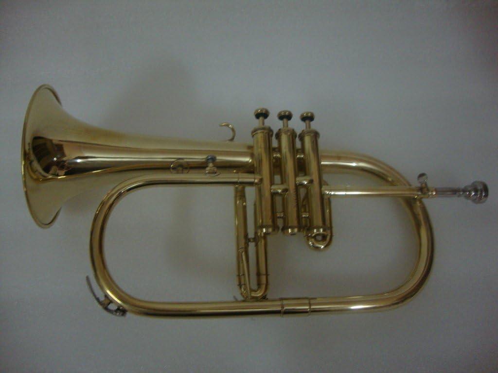 OSWAL Bb Flat Brass Finishing Trumpet With Free Hard Case+Mouthpiece