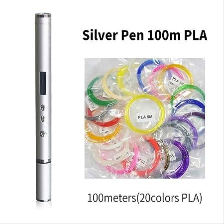 Pluma 3D Con Pantalla Garabato Pluma Pla Abs Filamento Impresora ...