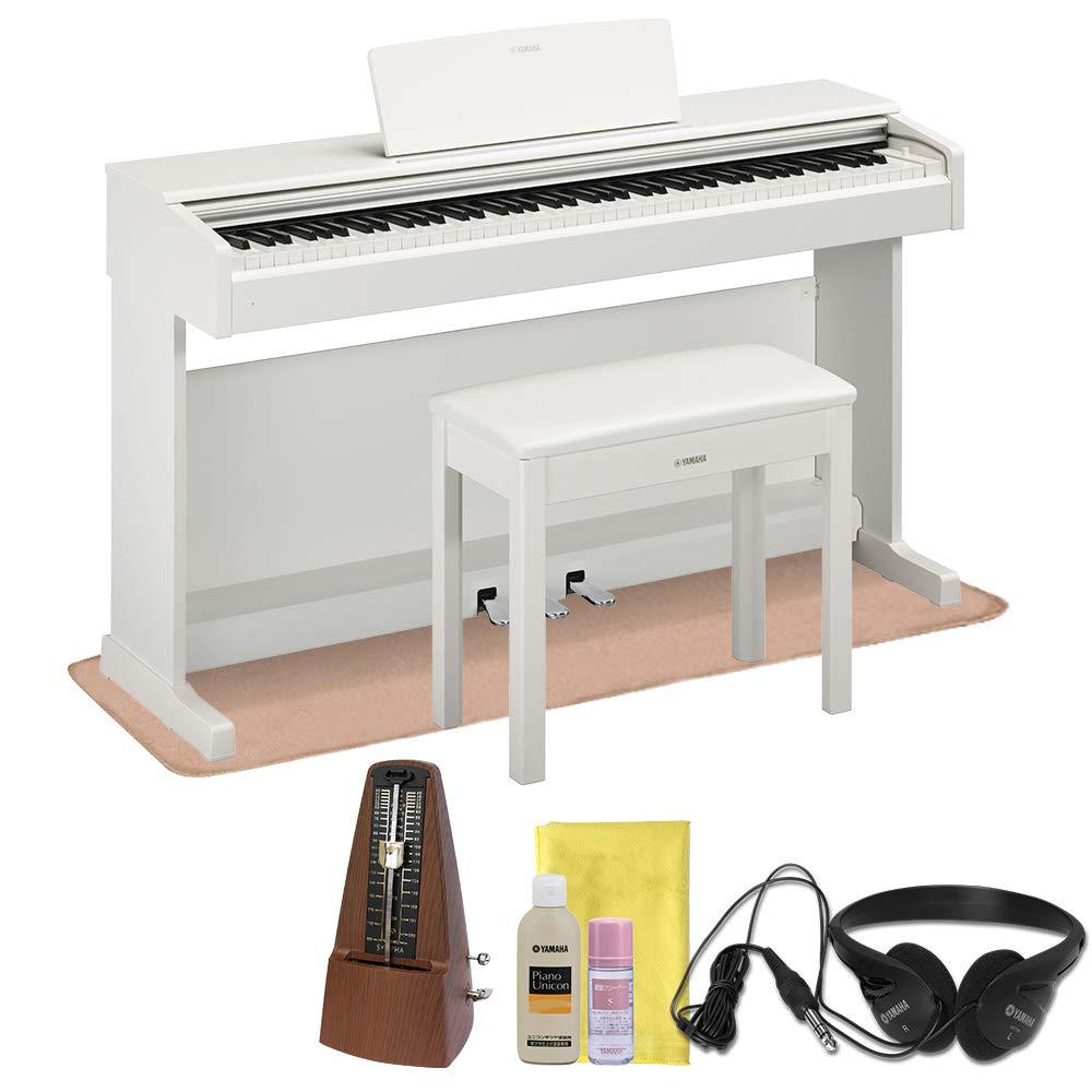 YAMAHA YDP-144WH ホワイトウッド 電子ピアノ アリウス 88鍵盤 ヤマハ   B07PWK7VK1