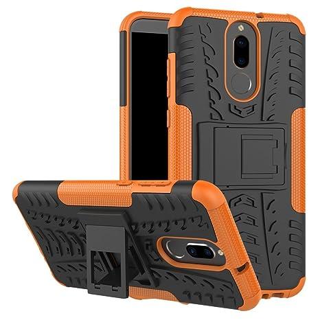 XINYUNEW Funda Huawei Mate 10 Lite, 360 Grados Protective+Pantalla de Vidrio Templado Caso Carcasa Case Cover Skin móviles telefonía Carcasas Fundas ...