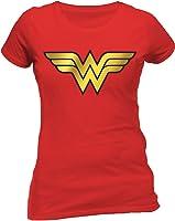 DC Comics Wonder Woman - Foil Logo Short Sleeve T-Shirt