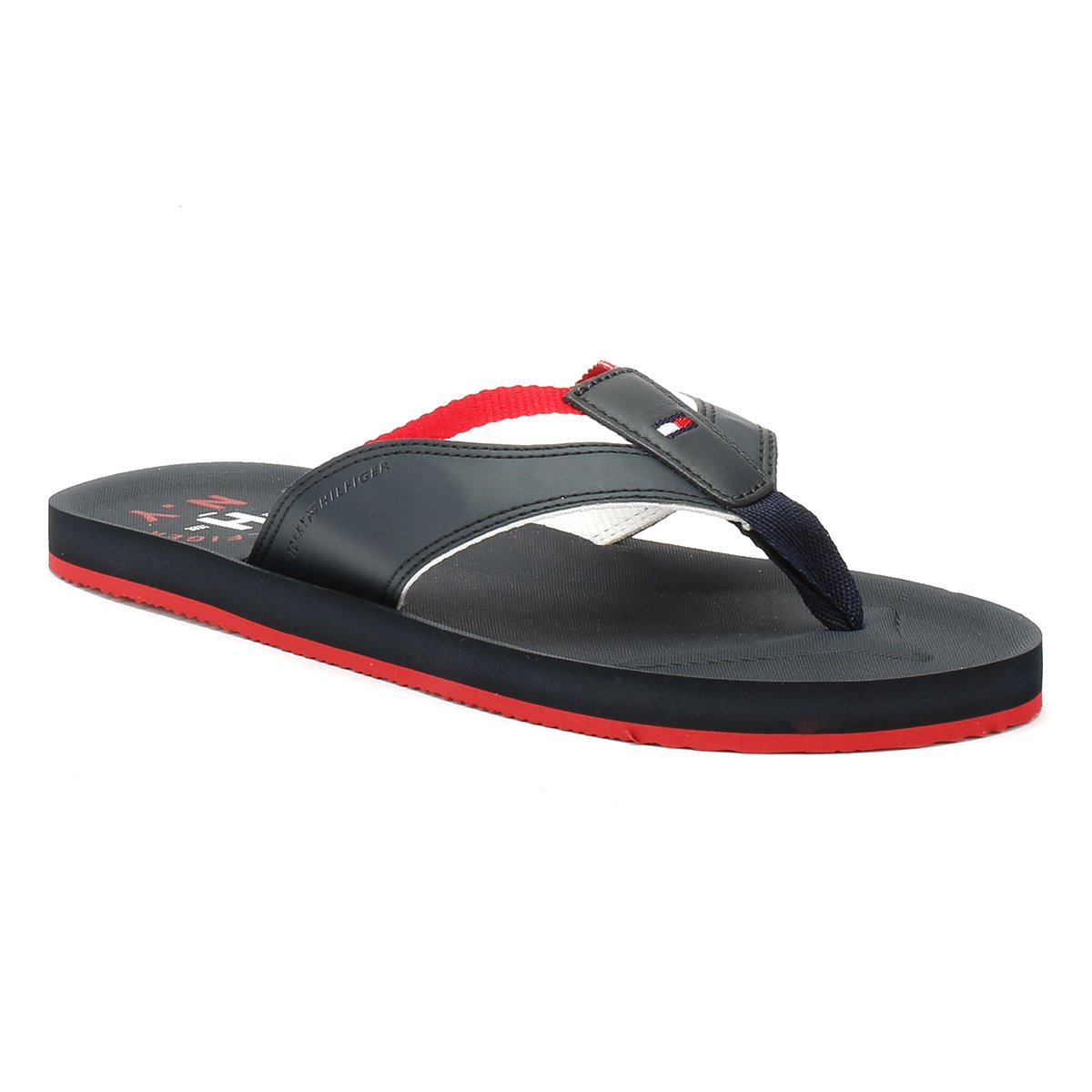 37b5b0706530 Tommy Hilfiger Men s Mix Webbing Synthetic Beach Sandal  Midnight-Midnight-11  Amazon.co.uk  Shoes   Bags