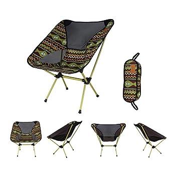 MOIMK Silla Plegable al Aire Libre, sillas Plegables ...