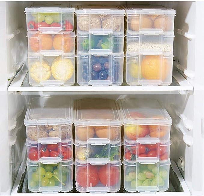 Sesame Caja de Almacenamiento de Alimentos para frigorífico o ...