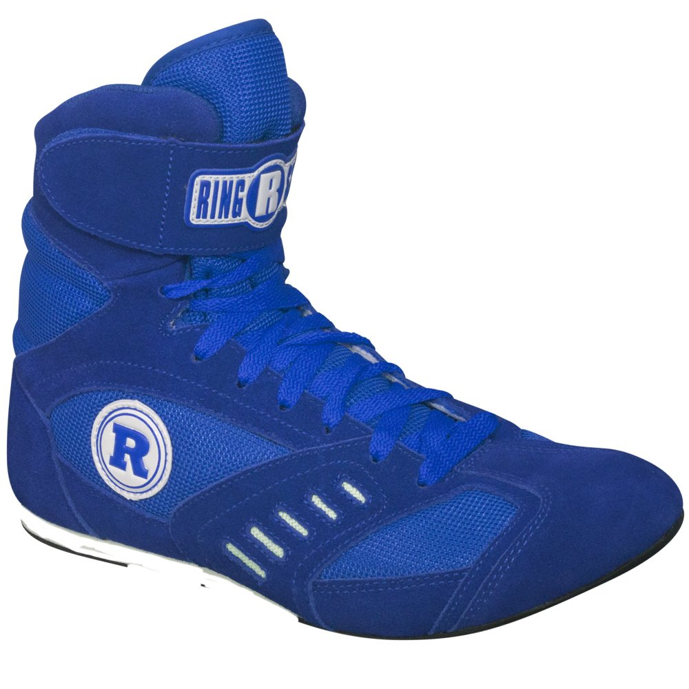 Ringside Power Boxing Shoes (Blue, 12) by Ringside