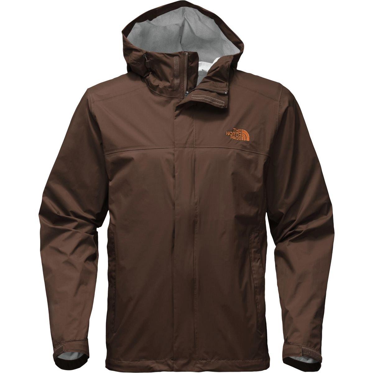 The North Face Venture 2 Jacket - Men's Brunette Brown/Brunette Brown/Autumnal Orange X-Large
