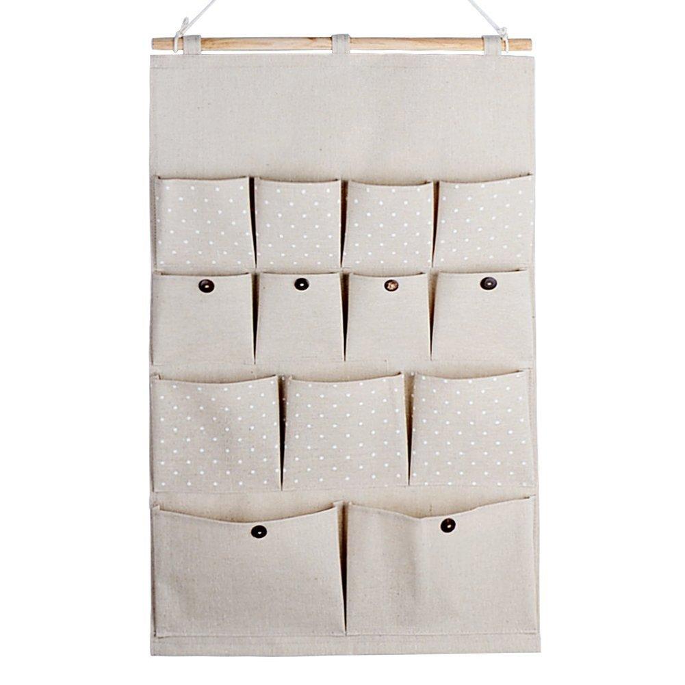 Highdas Borsa portaoggetti da parete Organizzatore da Appendere con 13 tasche