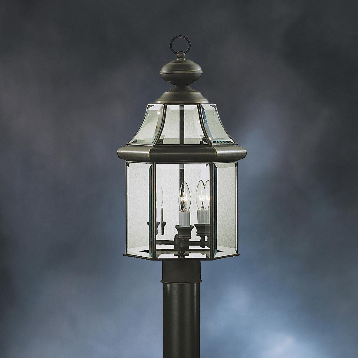 Kichler 9985OZ Three Light Outdoor Post Mount