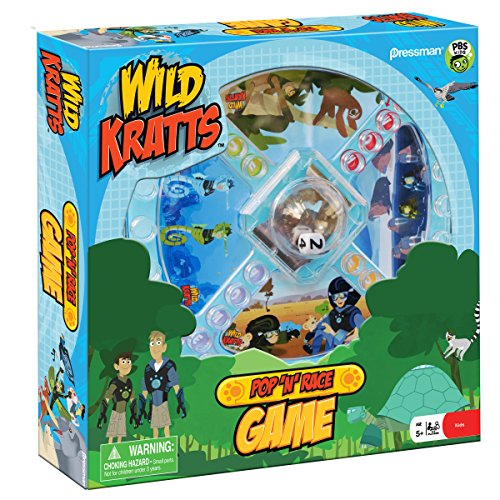 Wild Kratts Pop 'N' Race
