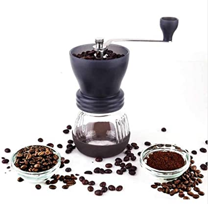 Amazon Com Manual Coffee Grinder Portable Hand Coffee Maker