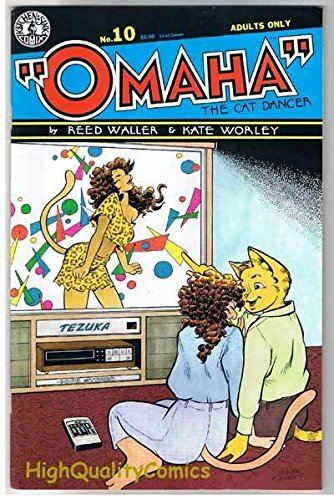 OMAHA the CAT DANCER #10, VF, Reed Waller, Adult, 1986, more in store -
