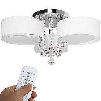 moderno lmpara de techo de cristal con bombillas de e para sala de estar