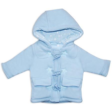 Rock A Bye Baby Jacke mit Kapuze Jungen navy Winter Jacke f/ür Neugeborene /& Kleinkinder Motiv: Dufflecoat Gr/ö/ße: 6-12 Monate 74//80