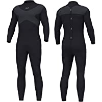 Hevto Wetsuits X Men and Women 3mm Neoprene Full Scuba Diving Suits Surfing Swimming Long Sleeve Back Zip for Water…