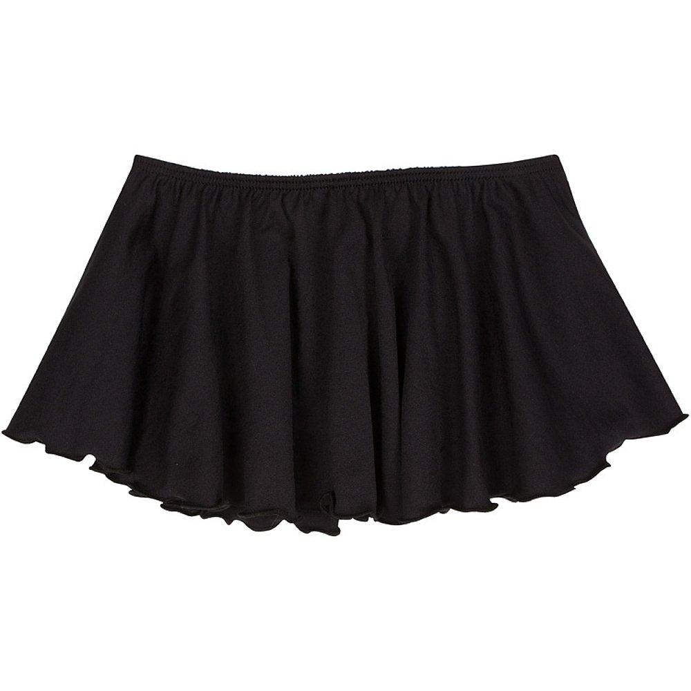 Toddler and Girls Flutter Ballet Dance Skirt Black XS (2-3T)