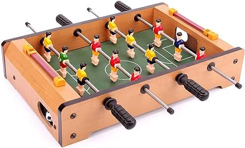 YCZM El fútbol de Mesa con el Marcador, Mango ergonómico, ABS Jugador Adecuado para la Familia Reuniones, Niño Padres Interacción: Amazon.es: Hogar
