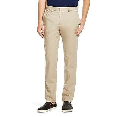 956c342c1 Mossimo Men's Mid Rise Slim Fit Chino Pants Khaki at Amazon Men's ...