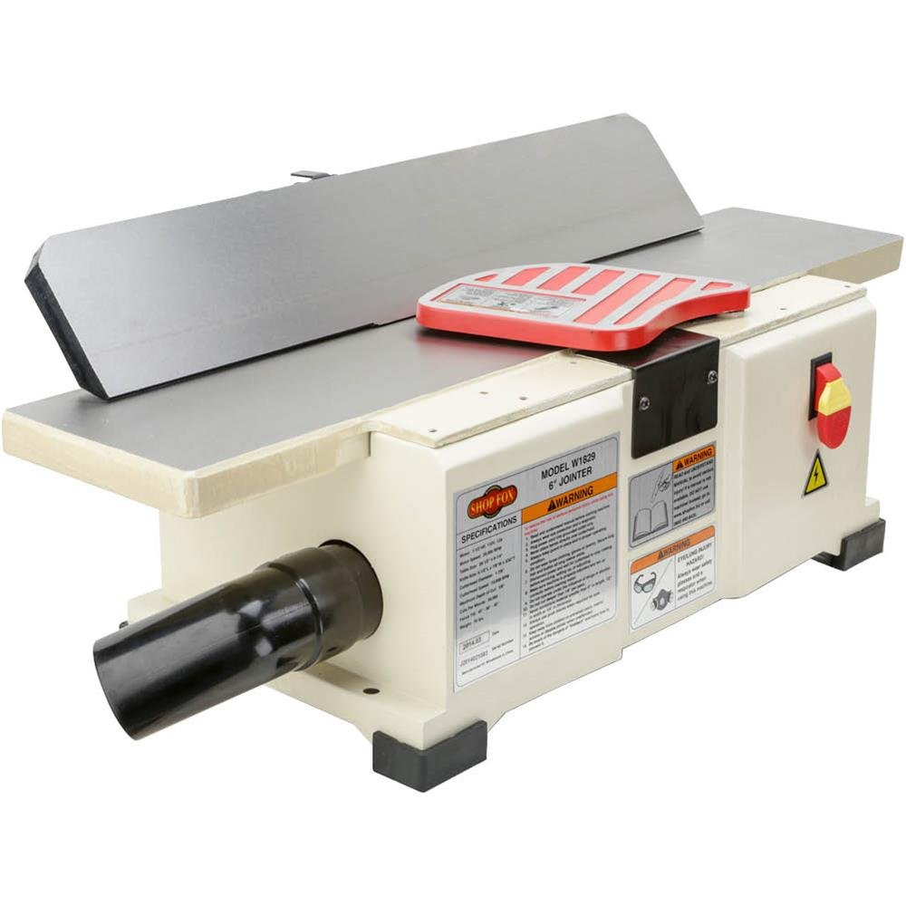 Shop Fox W1829 Benchtop Jointer, 6-Inch by Shop Fox (Image #3)
