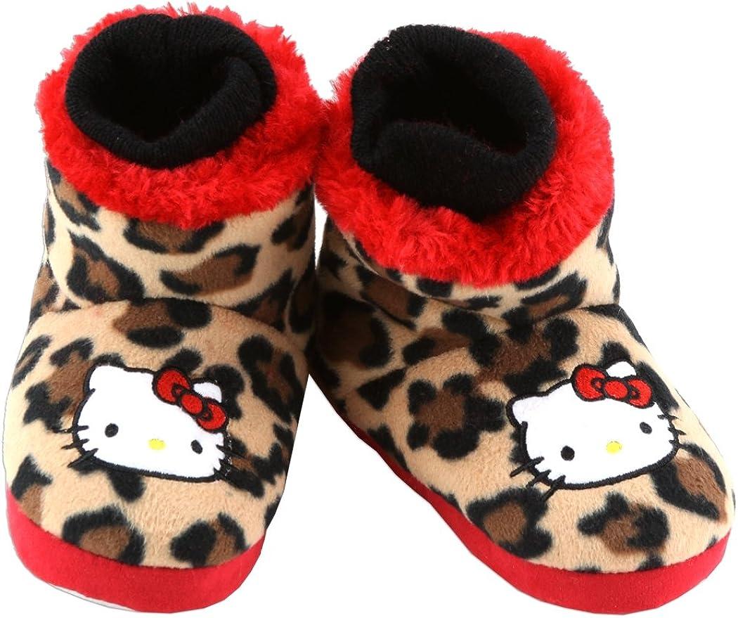 Hello Kitty Little Girls Slipper Bootie with Applique
