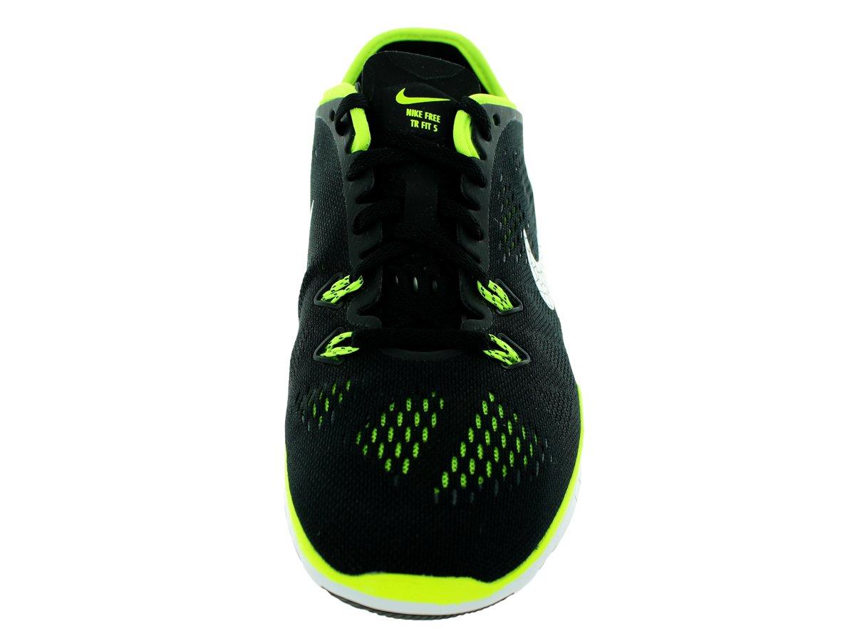 detailed look 63675 7fa5e ... de  NIKE Women s 5.0 Free 5.0 Metálico Running Sneaker Negro Negro  Metálico Plata-voltio 3241dc3 ...