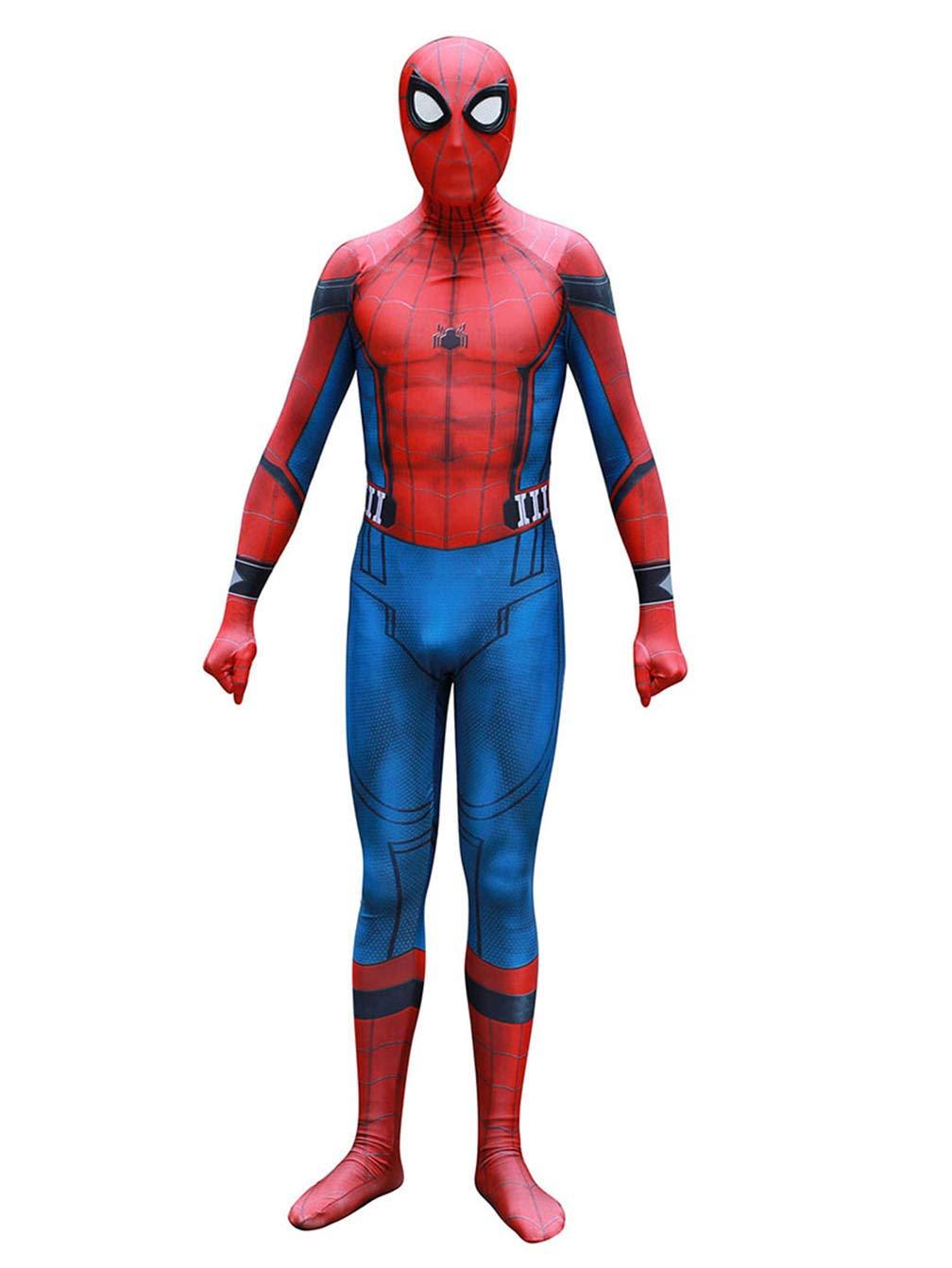 - 61AYSIkxYhL - Crazycos Unisex Adult Kids Spandex 3D Zentai Suit Costume Cosplay Bodysuit Halloween