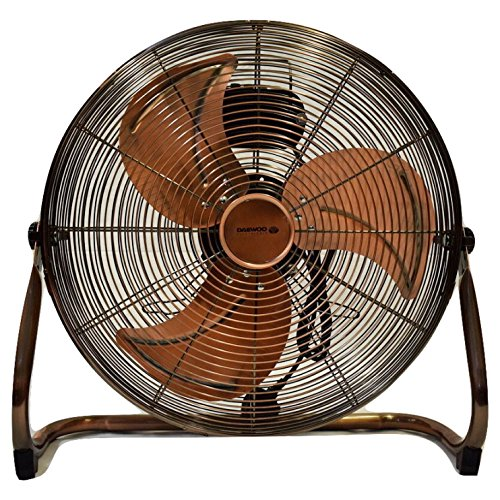 Daewoo Branded 18' (45 cm) High Velocity Air Circulator Floor Fan in Antique Copper