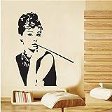 HuhushopTM X Audrey Hepburn Beautiful Eyes Removable - Wall stickershuhushopxaudrey hepburn beautiful eyes removable