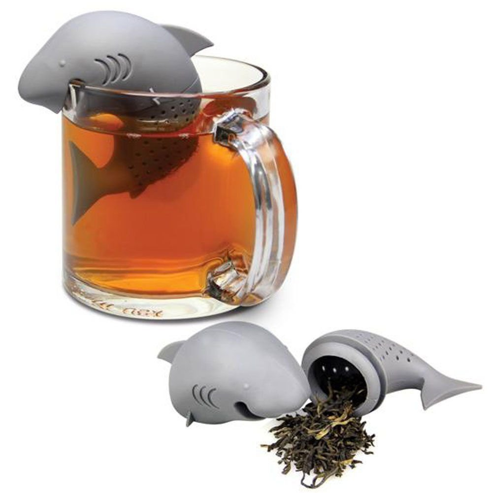 Cute Silicone Shark Tea Infuse...