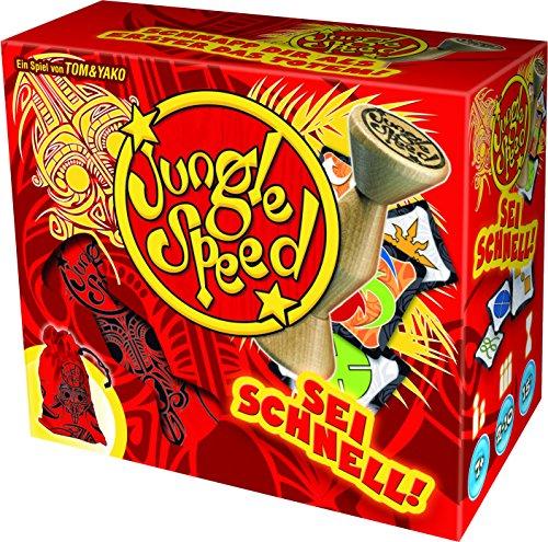 Asmodee Jungle Speed, Juego de Habilidad y Reflejos