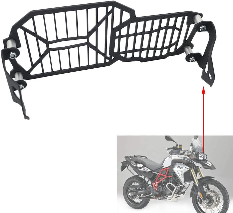 Areyourshop Black Engine Guard Protector Bash Skid Plate For B-M-W F800GS F650GS F700GS 2008-2017