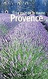 Le goût de la Haute-Provence par Mouret