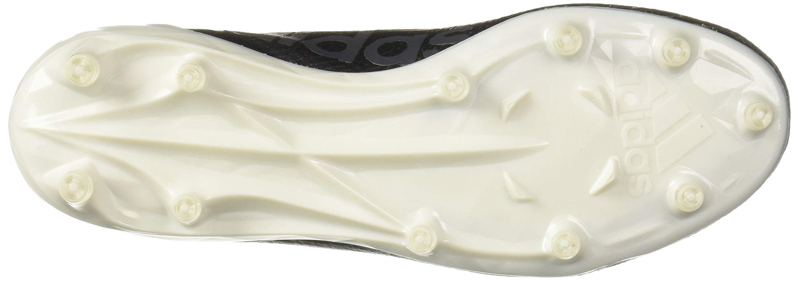 adidas Men's Adizero 8.0 Football Shoe Black/White/Grey 6.5 M US by adidas (Image #3)