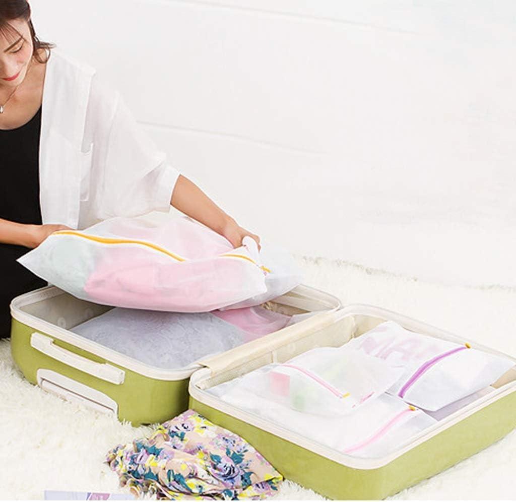 Sac isotherme Paquet De 5 Sacs /À Linge En Filet D/édi/és /À La Laveuse Et /À La S/écheuse Sac For Lave-linge D/élicat Chemisier Sous-v/êtements Soutien-gorge Color : Fine net