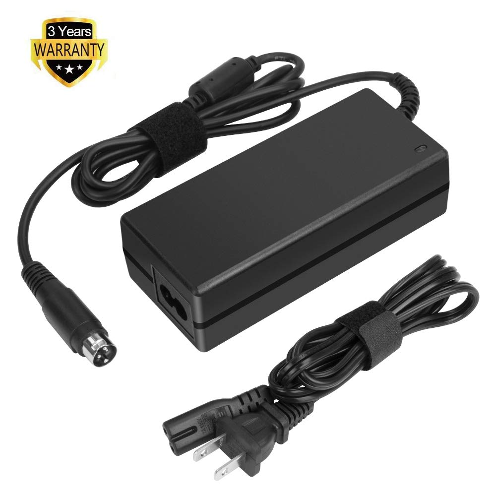 HKY 24V 3-Pin AC Adapter Replacement for EPSON M235A TM-T88II TM-88III POS Printer Power Supply Cord by HUI KE YUAN