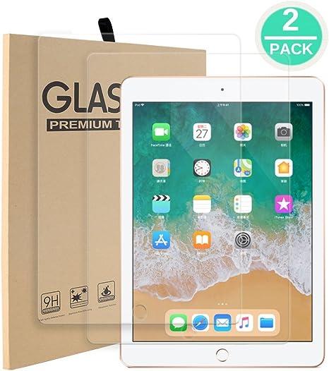 Premium Tempered Glass Screen Protectors for iPad 2017 2018