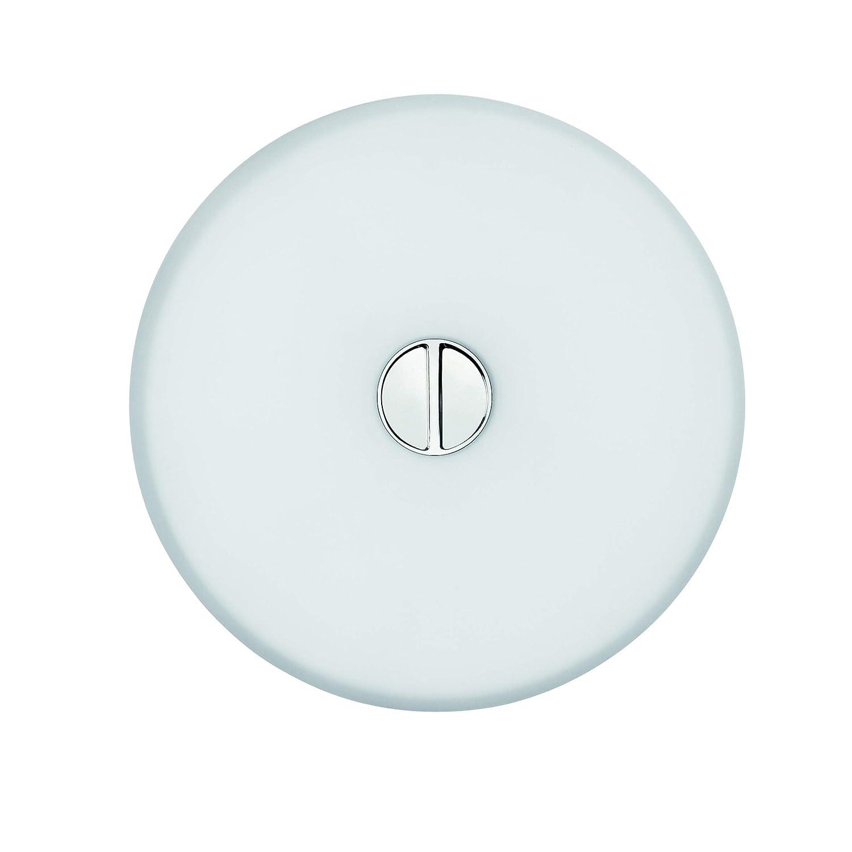Cristal Transparente FLOS Mini Button EU Diff plast.Opal//Opal 14/x 4,6/cm