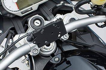SW Motech GPS.07.646.11201/B extraíble Navi de Soporte al Manillar para BMW S R 13/S 1000 XR 15, Negro: Amazon.es: Coche y moto