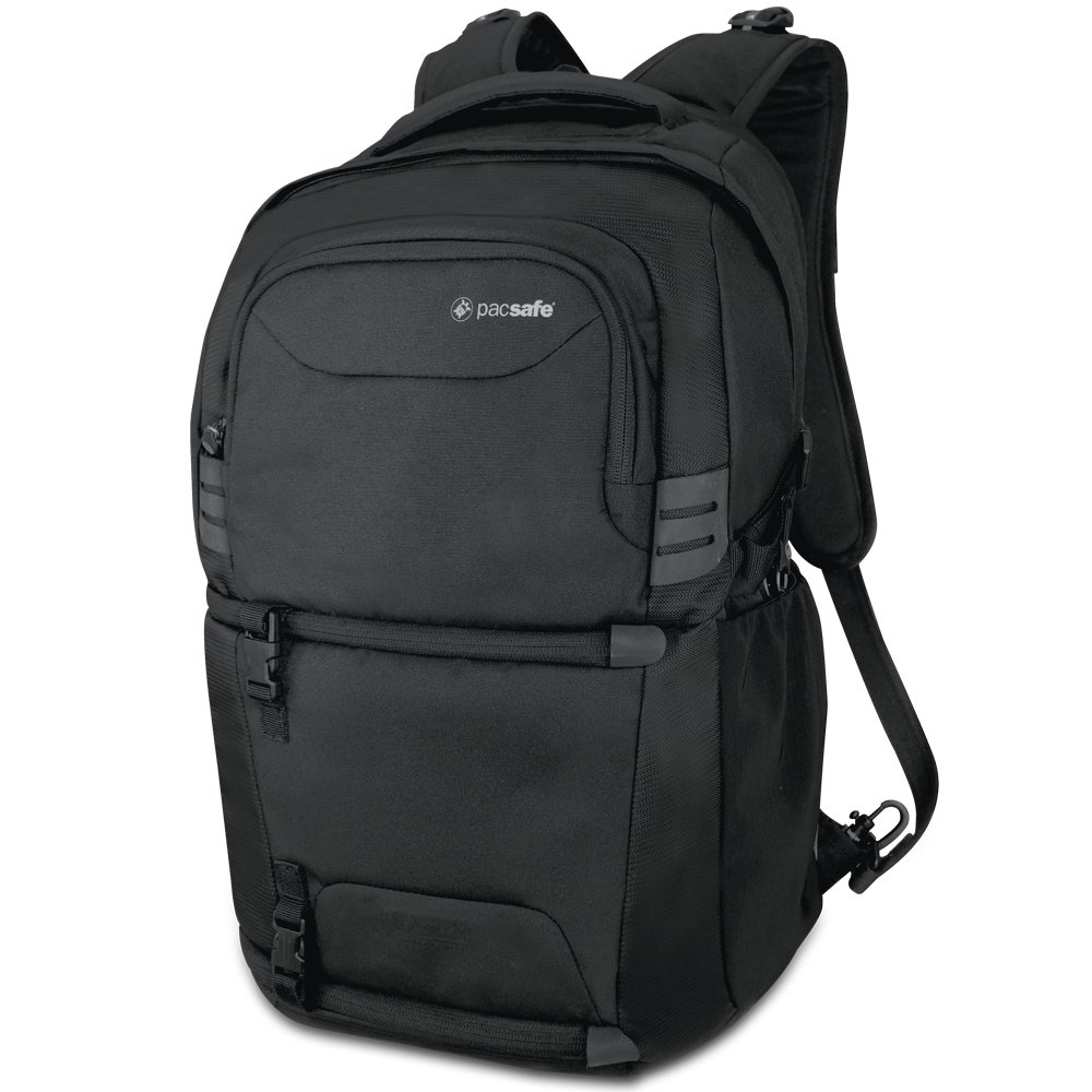 Pacsafe Camsafe V25 Anti-Theft Camera Backpack, Black by Pacsafe