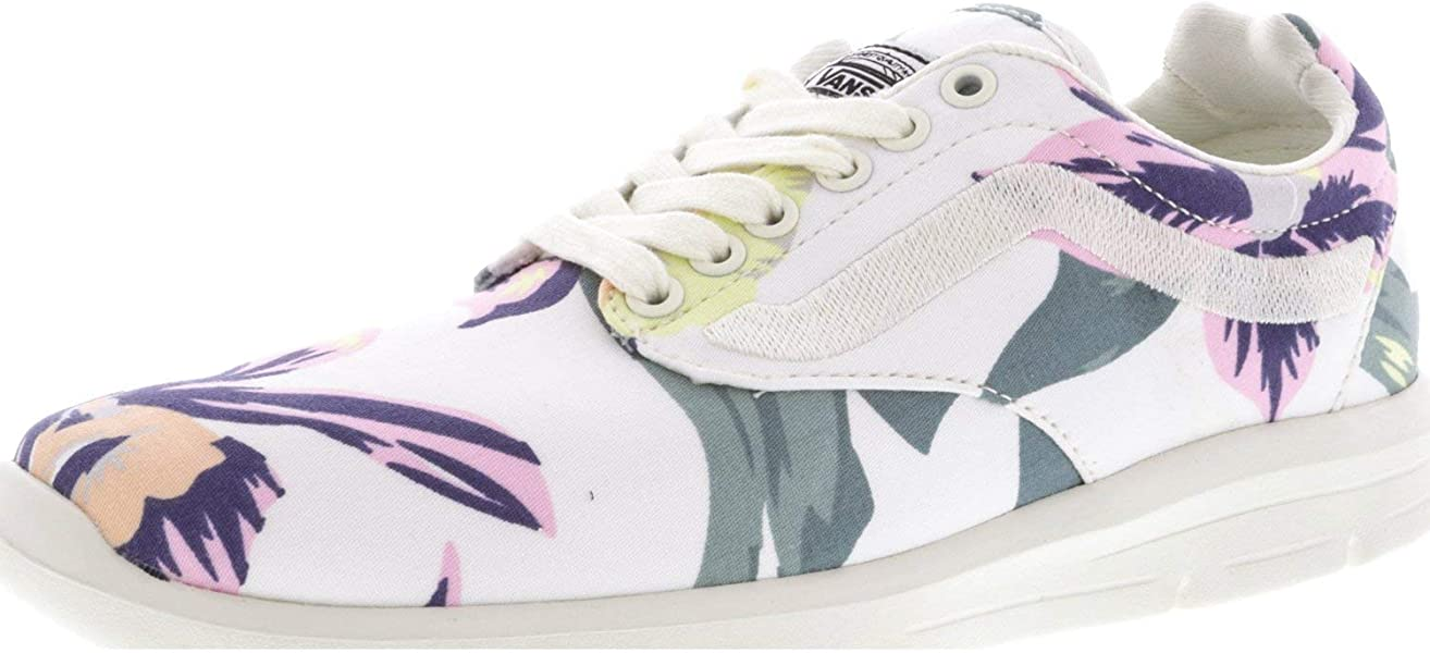 ad1b064a586 Vans Iso 1.5 Vintage Floral Marshmellow Ankle-High Skateboarding Shoe - 6M    4.5M