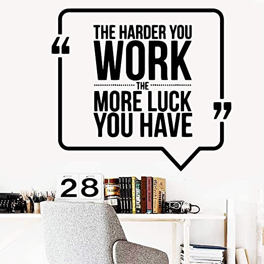 Wukongsun Home Work Hard And Luck Wallpaper Decoración Del