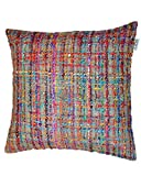 Niche Cushion Multi W/Feather Dimensions: 23.5''W x 0.5''D x 23.5''H Weight: 5 lbs