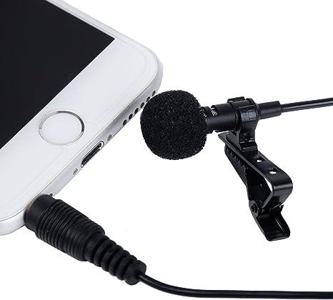 I3 C Samsung Galaxy S3 Mini i8190 de Solapa micrófono de Condensador omnidireccional para iPhone, iPad, iPod Touch, Samsung Android y Windows Smartphones: Amazon.es: Instrumentos musicales