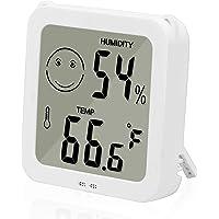 Vandeep Thermomètre, thermomètre numérique à l'intérieur, hygromètre Portable de Haute précision, humidité d'intérieur pour hygromètre numérique de Haute précision, précision