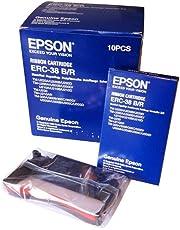Epson ERC38BR Cash Register Ribbon Black/Red EPS ERC38BR - 10 Ribbons