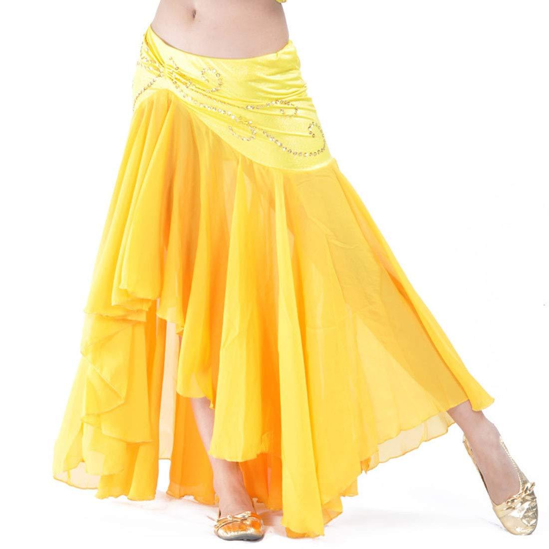 Calcifer - Falda de Gasa para Danza del Vientre, Vestido de Baile ...