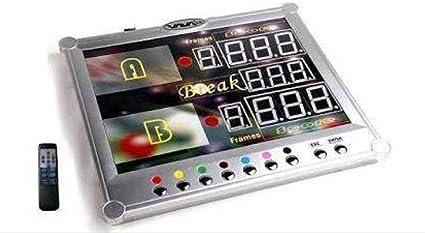 Camelot Q Sports Marcador electrónico para Snooker: Amazon.es: Deportes y aire libre