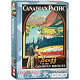 CP Rail in The Canadian Rockies 1000-Piece Puzzle