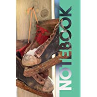 Notebook: Retro Ice Dancing Useful Composition Book for